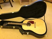 Gibson J-15 J15 Acoustic Guitar Spruce top, Walnut sides/back LR Baggs Element Pickup Hardcase