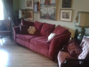Cozy and Comfortable Couch --in good condition