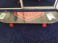 Brand new star wars skateboard