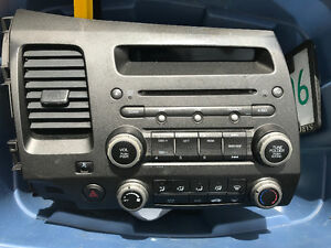 Civic Factory fitted CD player Fm radio will AC panel