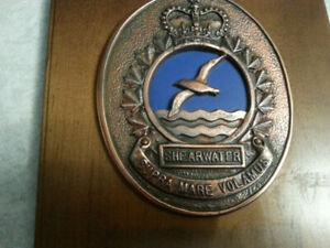CANADIAN MILITARY - SHEARWATER - RCHA - VING DEUX PLAQUE