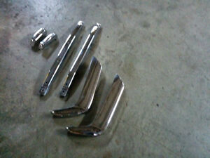 VOLVO P1800/ BULLHORN  BUMPERS CHROME