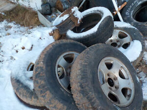 f-150 parts for 2001 4-winter tires and rims $500 cash