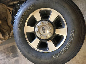 Ford Super Duty wheels/tires