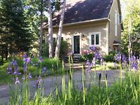 Maison à aire ouverte, environnement de rêve