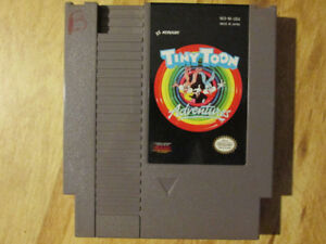 Nintendo NES TINY TOON ADVENTURES Video Game Looney Vintage Bugs