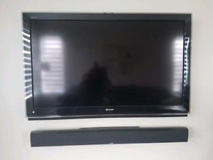 "Sharp 52"" Flat Screen TV"