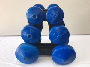DUMBELLS 2.5 LBS, 5 LBS, 10 LBS, weights, fitness, workout
