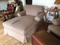SLIPCOVERS AND UPHOLSTERY