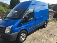 2011 ford transit 115 T350 2.2cdti mwb high top one owner from new