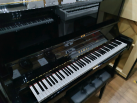 Kawai NS-15M upright piano black polyester for sale