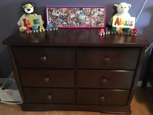 'Bentley' cribs for TWINS, 2 change tables, and dresser