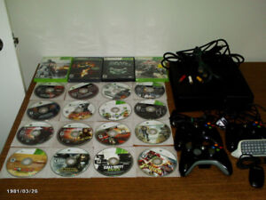 250 GB X-Box 360 With 20 games