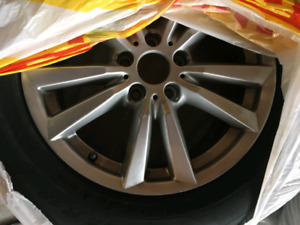 BMW X6 winter tires with rims