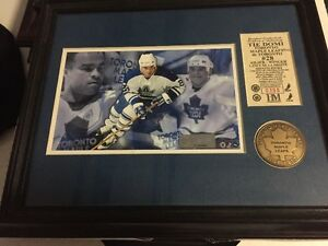 Tie Domi Framed Picture - Toronto Maple Leafs.