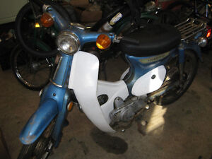 Honda C70m Passport Motorcycle for sale in As Is condition