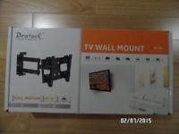 Support de TV mural ajustable NEUF