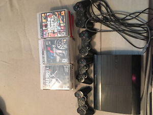 PS3 Bundle- 500G, including 20 Amazing Games- Adult Owned