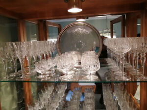 Estate Sale – Cross and Olive Crystal Glassware
