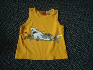 Boys Size 2 Shark Tank Top
