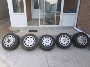 Rims n Tires for E class 300
