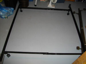Universal size bed frame (bed rail) for twin, full & queen