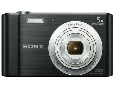 Sony Cybershot W800 20MP 5x Zoom Compact Digital Camera - USED