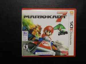 Mario Kart 7 , for 3DS. Complete in box with manual