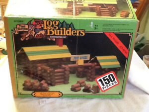 Vintage 150 Paul Bunyan Log Builders Fort Apache