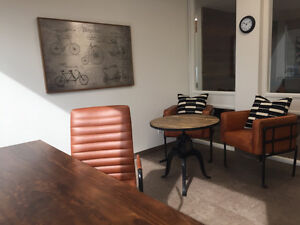 Newly Renovated Furnished Corner office in Landmark 1