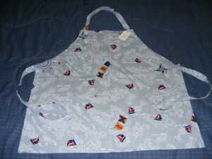 NEW - KID'S APRONS WITH ADJUSTABLE STRAPS - $7 EACH