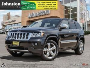 2012 Jeep Grand Cherokee Overland  - Sunroof -  Navigation - $10