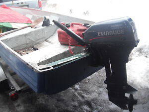 boat trailer en 15 evinrude engine