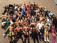 WWE bundle (figures and rings)