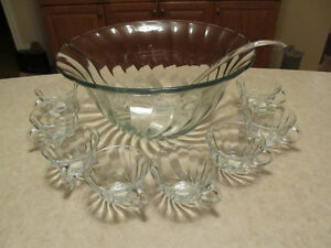 Anchor Punch Bowl Set