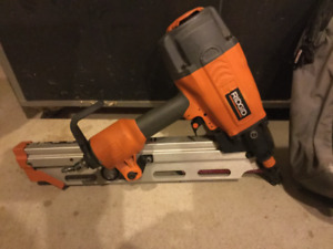 Ridgid clipped head framing nailer