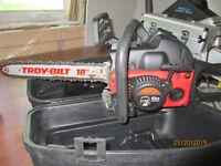 Troy-Bilt 18-Inch 42cc Gas Chainsaw