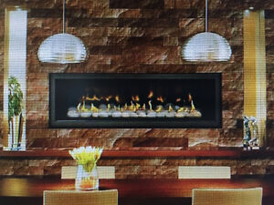 "Brand New 50"" Modern Linear Napoleon Natural Gas Fireplace Edmonton Edmonton Area image 2"