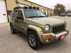 2004 Jeep Liberty Renegade 4x4 SAFETIED CLEAN