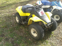 Great Christmas Present! Suzuki 4-wheeler 80CC $800 FIRM