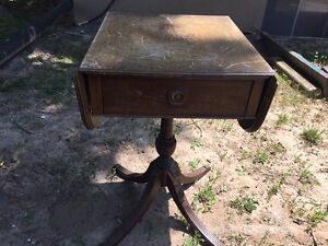 ANTIQUE TABLE  &  FOYER BENCH- RESTORATION PROJECTS