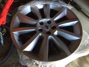 """20"""" aluminum Ford Flex rims"""