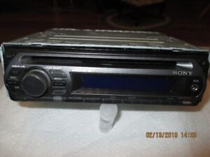 Vintage Pioneer and Sony Car Stereo CD players
