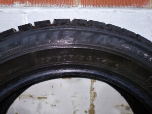 Almost new, Blizzak winter tires for sale