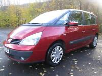 04/53 RENAULT ESPACE 2.2DCI EXPRESSION 7 SEAT MPV (P/X TO CLEAR / NEW MOT)