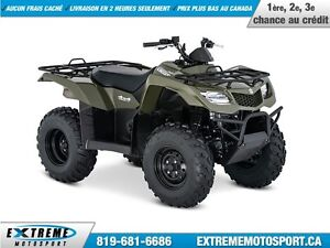 2017 Suzuki KingQuad 400FSI MANUAL 33,17$/SEMAINE