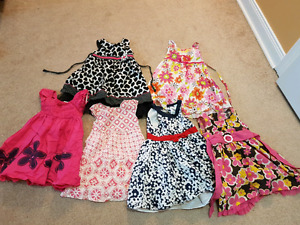 Girls size 3/4 summer clothes