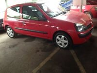 Renault clio 1.2 ideal for new drivers Fresh mot till June 17