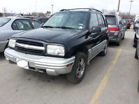 2003 Chevrolet Tracker with Remote Start