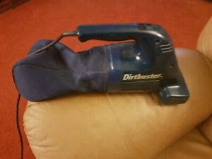 Hand Held Vacuum - Black and Decker Dirt Buster